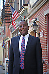 Trenton Mayoral Candidate Walker Worthy, Jr. in Trenton, New Jersey.