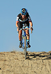 October 17, 2015 - Boulder, Colorado, U.S. - Elite cyclist, Caroline Mani, in action during the U.S. Open of Cyclocross, Valmont Bike Park, Boulder, Colorado.