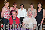 Having a ball at the the Ballincrossing School dance for pupils and staff held in The Ballyroe Heights Hotel on Friday night were seated l/r Tom Whyte and Willie Guerin, standing l/r Breda Goggin, Mags Griffin, Rita Griffin, Yvonne Guerin and Helen Dowling...   Copyright Kerry's Eye 2008