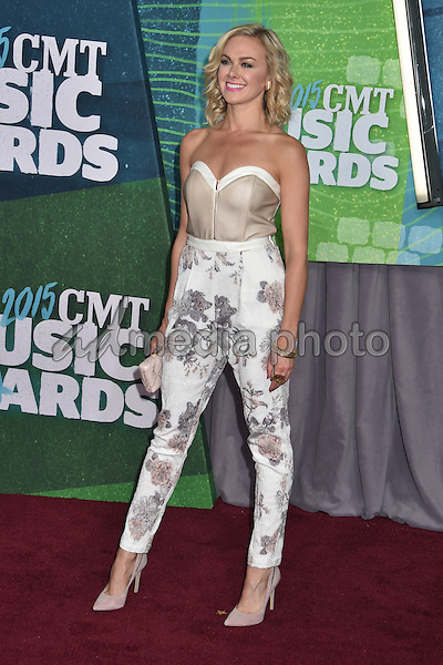 10 June 2015 - Nashville, Tennessee - Laura Bell Bundy. 2015 CMT Music Awards held at Bridgestone Arena. Photo Credit: Laura Farr/AdMedia