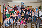 PROUD PARENTS: Amy Smith and Gordon Carey, Ashgrove, Tralee (seated 3rd & 4th left) of little Kyle who was Christened in St Brendan's Church, Tralee by Fr Padraig Walsh and celebrated afterwards with family and friends at the Kerins O'Rahillys clubhouse, Tralee on Saturday...