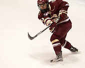 Haley McLean (BC - 13) - The Boston College Eagles defeated the Boston University Terriers 3-2 in the first round of the Beanpot on Monday, January 31, 2017, at Matthews Arena in Boston, Massachusetts.