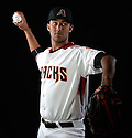 Arizona Diamondbacks Randall Delgado (48) during photo day on February 28, 2016 in Scottsdale, AZ.