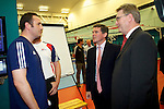 Pix: Shaun Flannery/shaunflanneryphotography.com...COPYRIGHT PICTURE>>SHAUN FLANNERY>01302-570814>>07778315553>>..20th July 2010.......GB Boxing, The English Institute of Sport, Sheffield (EIS Sheffield)..Visit of the Sports Minister Hugh Robertson.