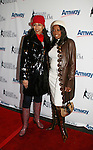 Tamara Tunie and Star Jones (gala co-chairs) at the 2009 Skating with the Stars - a benefit gala for Figure Skating in Harlem on April 6, 2009 at Wollman Rink, Central Park, NYC, NY. (Photo by  Sue Coflin/Max Photos)