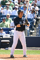 March 17th 2008:  Hideki Matsui of the New York Yankees during a Spring Training game at Legends Field in Tampa, FL.  Photo by:  Mike Janes/Four Seam Images