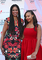 6 April 2019 - Los Angeles, California - Holly Frazier, Nia Sioux. the Ending Youth Homelessness: A Benefit For My Friend's Place  held at Hollywood Palladium.  <br /> CAP/ADM/FS<br /> &copy;FS/ADM/Capital Pictures