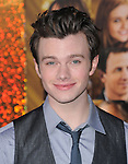 Chris Colfer at The Warner Bros. Pictures World Premiere of New Year's Eve  held at The Grauman's Chinese Theatre in Hollywood, California on December 05,2011                                                                               © 2011 Hollywood Press Agency