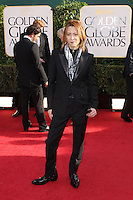 BEVERLY HILLS, CA - JANUARY 13: Yoshiki Hayashi at the 70th Annual Golden Globe Awards at the Beverly Hills Hilton Hotel in Beverly Hills, California. January 13, 2013. Credit MediaPunch Inc. /NortePhoto