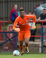 Goalkeeper Jamal Blackman of Chelsea U23 during the pre season friendly match between Aldershot Town and Chelsea U23 at the EBB Stadium, Aldershot, England on 19 July 2017. Photo by Andy Rowland / PRiME Media Images.