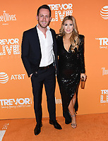 02 December 2018 - Beverly Hills, California - David Parnes, Adrian Parnes. 2018 TrevorLIVE Los Angeles held at The Beverly Hilton Hotel. <br /> CAP/ADM/BT<br /> &copy;BT/ADM/Capital Pictures