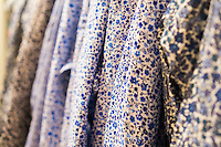 Detail of Liberty print shirt in the Uniqlo store on Fifth Avenue in New York on Thursday, March 24, 2016 showing the collaboration between Uniqlo and Liberty London, a company known mostly for its distinctive floral patterned fashions. (©Richard B. Levine)