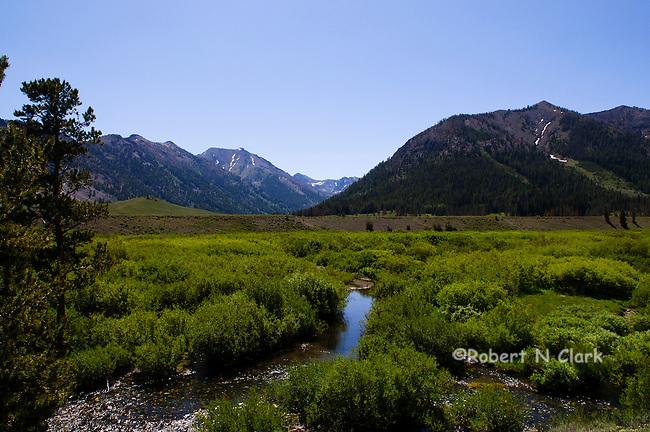 Star Hope Creek in the Copper Basin in Idaho near Sun Valley