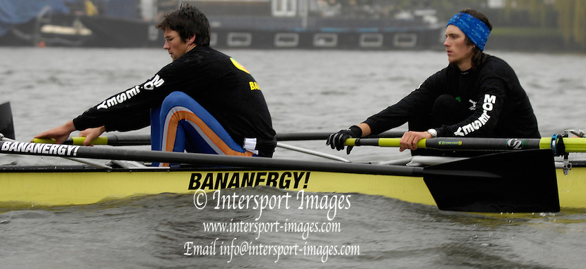 Putney, GREAT BRITAIN, Molesey Boat Club, Bananergy!, .Fri. 3003.2007, England [Photo Peter Spurrier/Intersport Images]  [Mandatory Credit, Peter Spurier/ Intersport Images].