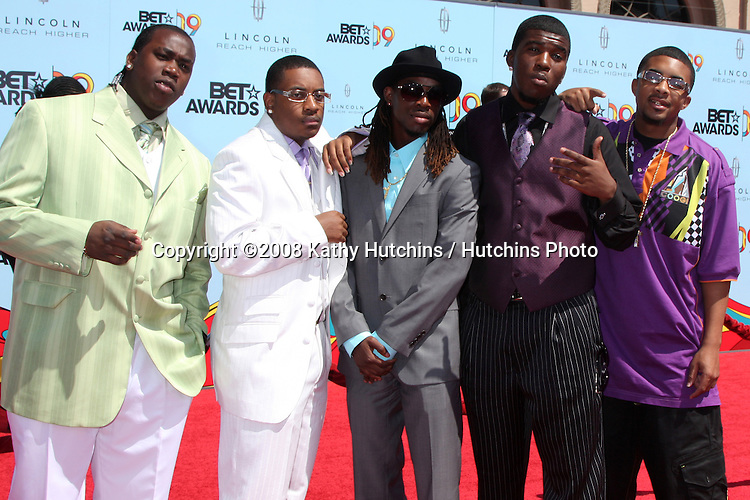 GS Boyz  arriving at  the BET Awards 2009 at the Shrine Auditorium in Los Angeles, CA on June 28, 2009.©2008 Kathy Hutchins / Hutchins Photo.