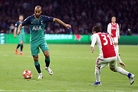 Nicolas Tagliafico of Ajax and Lucas of Tottenham Hotspur during AFC Ajax vs Tottenham Hotspur, UEFA Champions League Football at the Johan Cruyff Arena on 8th May 2019