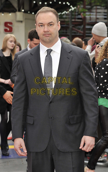 LONDON, ENGLAND - MAY 11: Thomas Tull attends the &quot;Godzilla&quot; UK film premiere, Odeon Leicester Square cinema, Leicester Square, on Sunday May 11, 2014 in London, England, UK.<br /> CAP/CAN<br /> &copy;Can Nguyen/Capital Pictures