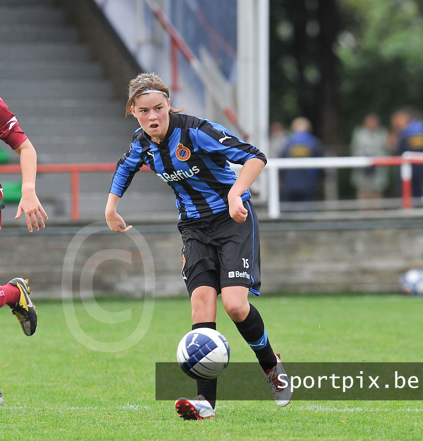 Club Brugge Dames : Charlotte Laridon.foto DAVID CATRY / Vrouwenteam.be