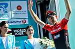 Edward Theuns (BEL) Trek-Segafredo wins Stage 6 of the Presidential Cycling Tour of Turkey 2017 running 143.7km from Istanbul to Istanbul, Turkey. 15/10/2017.<br /> Picture: Brian Hodes/VeloImages | Cyclefile<br /> <br /> <br /> All photos usage must carry mandatory copyright credit (&copy; Cyclefile | Brian Hodes/VeloImages)
