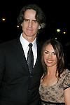 LOS ANGELES, CA. - January 31: Director Jay Roach and wife singer Susanna Hoffs arrive at the 61st Annual DGA Awards at the Hyatt Regency Century Plaza on January 31, 2009 in Los Angeles, California.