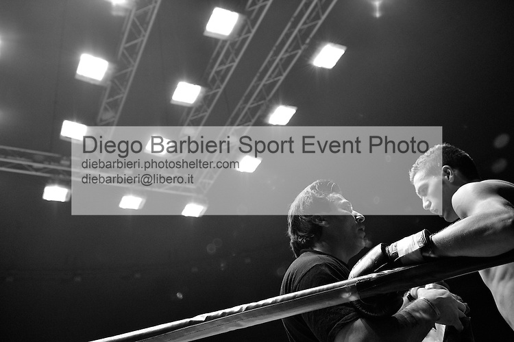 02 marzo 2012 - Thai Boxe Mania<br /> Torino, Palaruffini<br /> <br /> Silviu Podariu ITA