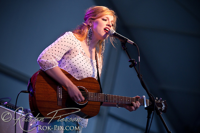 Cara Brindisi performs at Newport Waterfront Events July 10, 2013