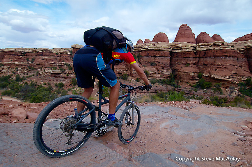 Elephant Hill/Confluence Overlook Trail, Canyonlands National Park, Utah.
