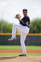 Seattle Mariners pitcher Nick Neidert (47) during an instructional league game against the Texas Rangers on October 5, 2015 at the Surprise Stadium Training Complex in Surprise, Arizona.  (Mike Janes/Four Seam Images)