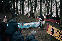 Mathieu van der Poel (NED/Beobank-Corendon)<br /> <br /> Elite Men's race<br /> UCI CX World Cup Namur / Belgium 2017