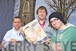 ON STAGE: Members of Listowel's new Unemployed Theatre Group which will perform its first play this month, l-r: Shaun McDonnell, John Naughten, Fiachra McKeever.