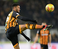 Hull City's Fraizer Campbell<br /> <br /> Photographer Chris Vaughan/CameraSport<br /> <br /> The EFL Sky Bet Championship - Hull City v Sheffield Wednesday - Saturday 12th January 2019 - KCOM Stadium - Hull<br /> <br /> World Copyright &copy; 2019 CameraSport. All rights reserved. 43 Linden Ave. Countesthorpe. Leicester. England. LE8 5PG - Tel: +44 (0) 116 277 4147 - admin@camerasport.com - www.camerasport.com