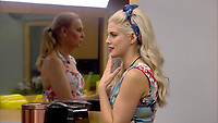 Ashley James, India Willoughby<br /> Celebrity Big Brother 2018 - Day 8<br /> *Editorial Use Only*<br /> CAP/KFS<br /> Image supplied by Capital Pictures