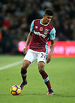 West Ham's Ashley Fletcher in action during the Premier League match at the London Stadium, London. Picture date November 5th, 2016 Pic David Klein/Sportimage
