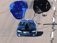 Feb 23, 2019; Chandler, AZ, USA; NHRA top sportsman driver Sammy Gonzales during qualifying for the Arizona Nationals at Wild Horse Pass Motorsports Park. Mandatory Credit: Mark J. Rebilas-USA TODAY Sports