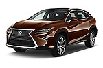 2016 Lexus RX Executive 5 Door SUV Angular Front stock photos of front three quarter view