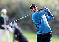 Sanjay Modgill during the Charles Tour Augusta Funds Management Ngamotu Classic, Ngamotu Golf Course, New Plymouth, New Zealand, Thursday 12 October 2017.  Photo: Simon Watts/www.bwmedia.co.nz