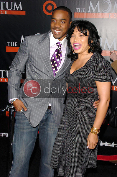 """Duane Martin and Tisha Campbell<br />at the premiere of """"The Seat Filler"""". El Capitan Theatre, Hollywood, CA. 02-22-06<br />Dave Edwards/DailyCeleb.com 818-249-4998"""