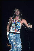 CHICAGO, ILLINOIS - OCTOBER 22, 1987: Def Leppard performing on The Hysteria Tour at The Rosemont Horizion in Rosemont, Illinois on October 22, 2013.<br /> CAP/MPI/GA<br /> ©GA/MPI/Capital Pictures