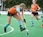 HUIZEN  -   Leoniek Koning (Gro) , hoofdklasse competitiewedstrijd hockey dames, Huizen-Groningen (1-1)   COPYRIGHT  KOEN SUYK