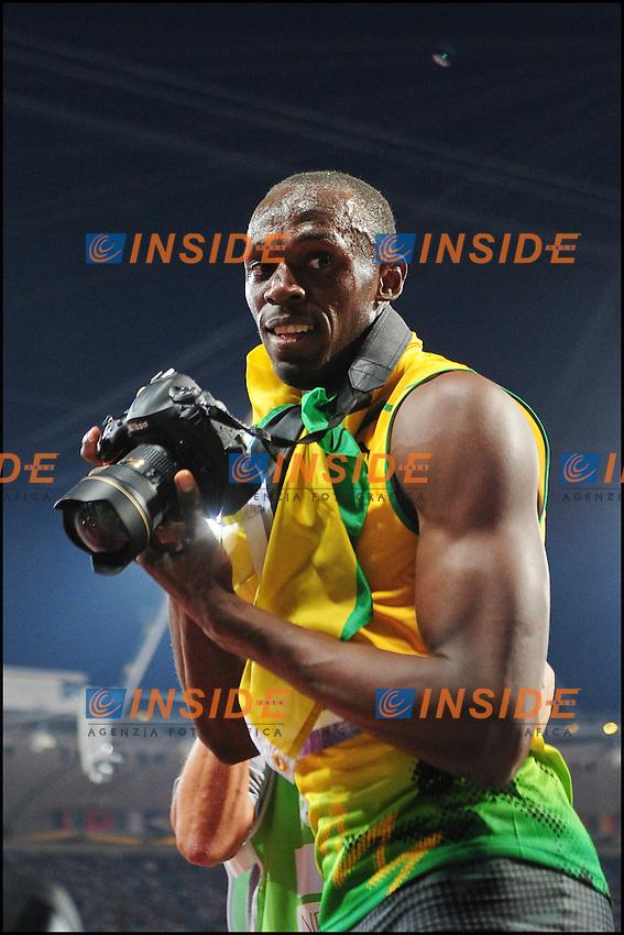Usain Bolt (Jam) - finale 200m maschile.Olimpiadi Londra 2012, .09/08/2012 Londra.Foto Insidefoto / JB Autissier / FEP / Panoramic..Italy Only