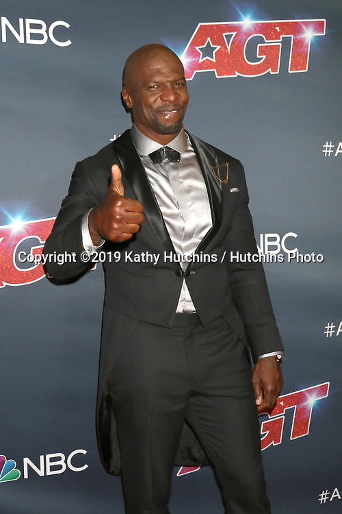 """LOS ANGELES - SEP 18:  Terry Crews at the """"America's Got Talent"""" Season 14 Finale Red Carpet at the Dolby Theater on September 18, 2019 in Los Angeles, CA"""