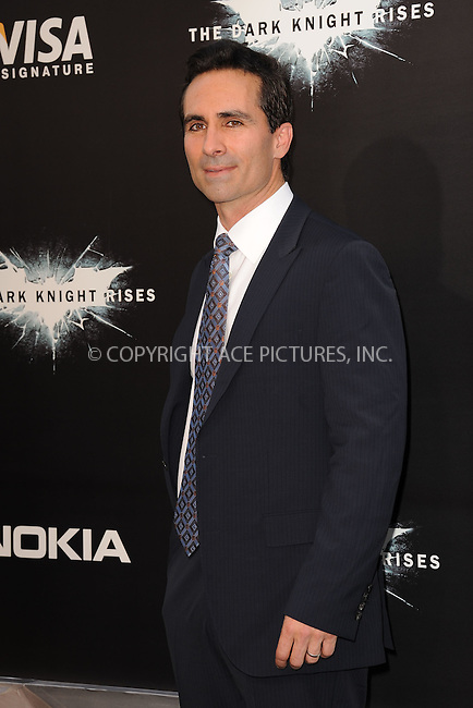 WWW.ACEPIXS.COM . . . . . .July 16, 2012...New York City....Nestor Carbonell attends 'The Dark Knight Rises' New York Premiere at AMC Lincoln Square Theater on July 16, 2012 in New York City ....Please byline: KRISTIN CALLAHAN - ACEPIXS.COM.. . . . . . ..Ace Pictures, Inc: ..tel: (212) 243 8787 or (646) 769 0430..e-mail: info@acepixs.com..web: http://www.acepixs.com .