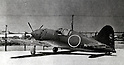 Undated - The Mitsubishi J2M Raiden was a single-engine land-based fighter aircraft used by the Imperial Japanese Navy Air Service in World War II. (Photo by Kingendai Photo Library/AFLO)