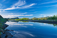 Ogilvie River, Dempster Highway, Northwest Territories, Canada