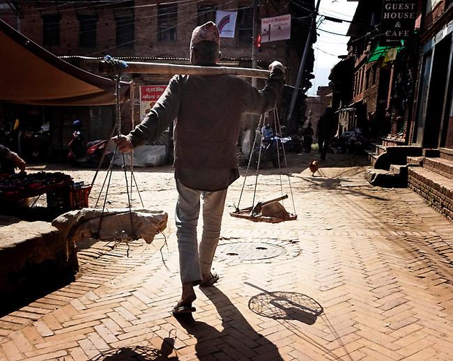 Street scene, Patan, Kethmandu, Nepal
