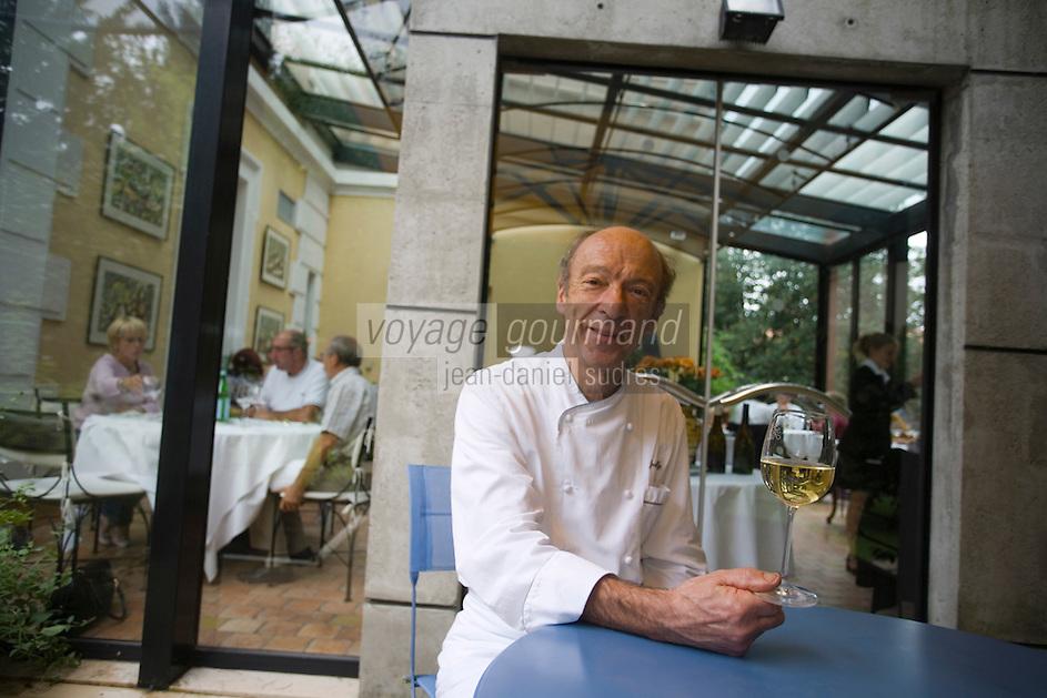 "Europe/France/Rhône-Alpes/69/Rhône/Tarare:   Jean Brouilly   Chef du Restaurant ""Jean Brouilly"""