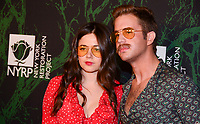 NEW YORK, NY - OCTOBER 30: Molly Gordon (L) and Ben Platt attend Bette Midler's Annual Hulaween Event Benefiting The New York Restoration Project, at the Cathedral of St. John the Divine on Monday, October 30, 2017  in New York. Credit: Raymond Hagans/MediaPunch /NortePhoto.com