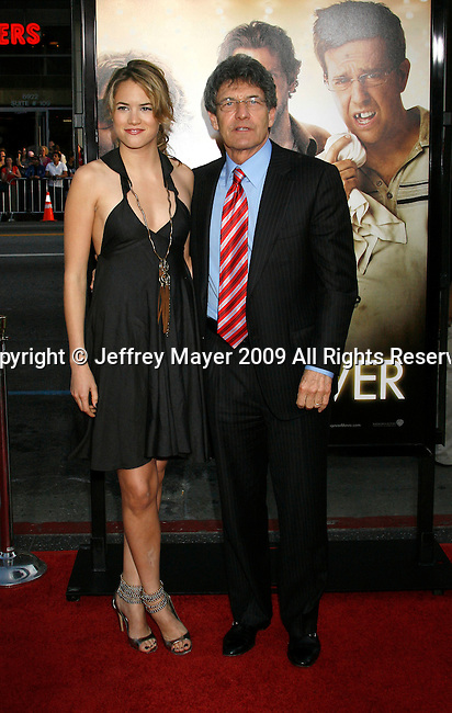 "HOLLYWOOD, CA. - June 02: President/CEO Warner Bros. Pictures Alan Horn and daughter Cody arrive at the Los Angeles premiere of ""The Hangover"" at Grauman's Chinese Theatre on June 2, 2009 in Hollywood, California."