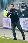 10.03.2018,  Millerntor-Stadion, Hamburg, GER, 2. FBL, 1.FC St.Pauli vs Eintracht Braunschweig im Bild Trainer Markus Kauczinski (Pauli) Foto © nordphoto / Witke