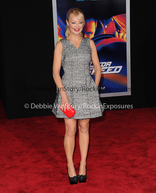 Charlotte Ross attends The Dreamworks Pictures' L.A. premiere of Need for Speed held at The TCL Chinese Theater in Hollywood, California on March 06,2014                                                                               © 2014 Hollywood Press Agency